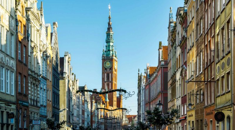 ulica długa w Gdańsku